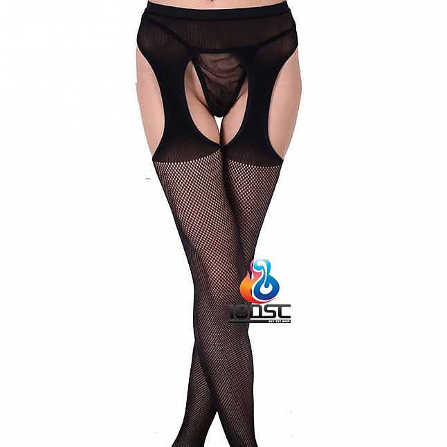 La CoCo Classic Fishnet Suspender Pantyhose