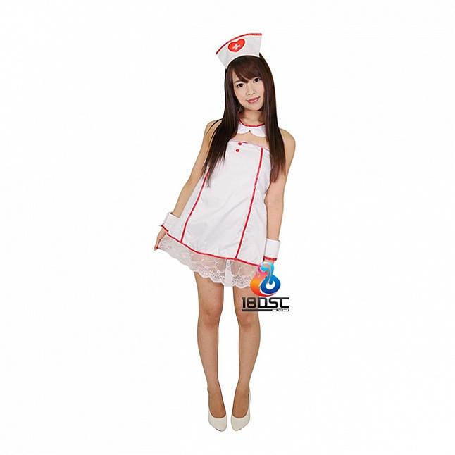 A-One Costume Love Sexy White Nurse Costume