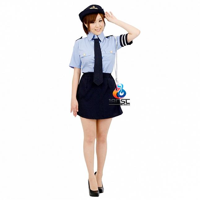 A-One Costume Love Sexy Cop Uniform Set