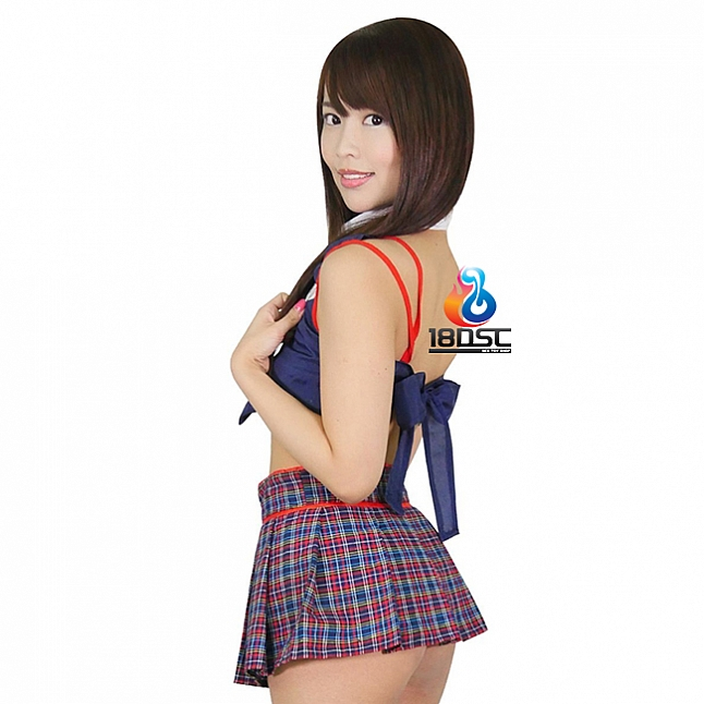 A-One Costume Love Naughty Schoolgirl Uniform Costume