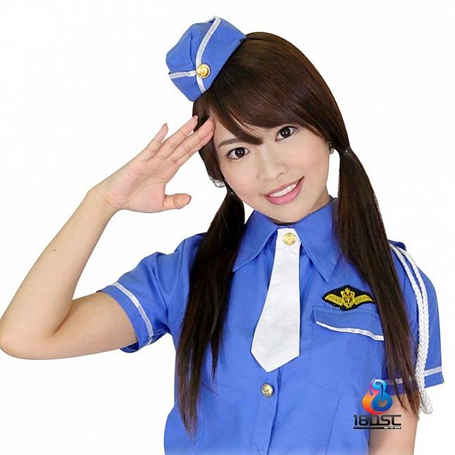 A-One Costume Love Cute Cop Uniform Set