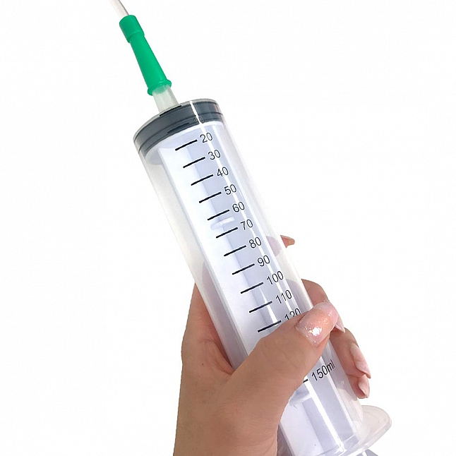 A-One - Medy Syringe with Tube 150ml