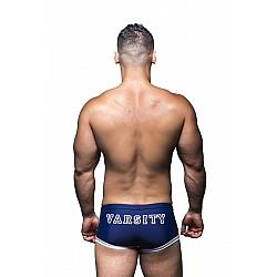 Andrew Christian Athletic Varsity Trunk 男士泳褲 藍色