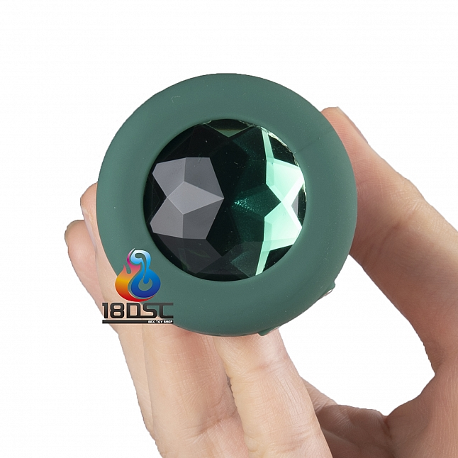 b-Vibe - Remote Control Vibrating Jewel Plug M/L