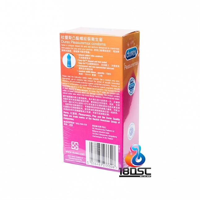 Durex - Pleasuremax Condom (HK Edition) 12 Pcs