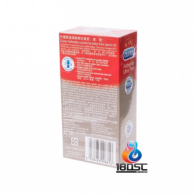 Durex - Fetherlite Ultra Thin Condom (HK Edition) 10 Pcs