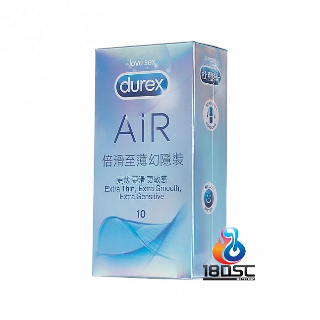 Durex - AIR Extra Smooth Condom (HK Edition) 10 Pcs