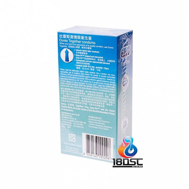 Durex - Together Condom (HK Edition) 12 Pcs