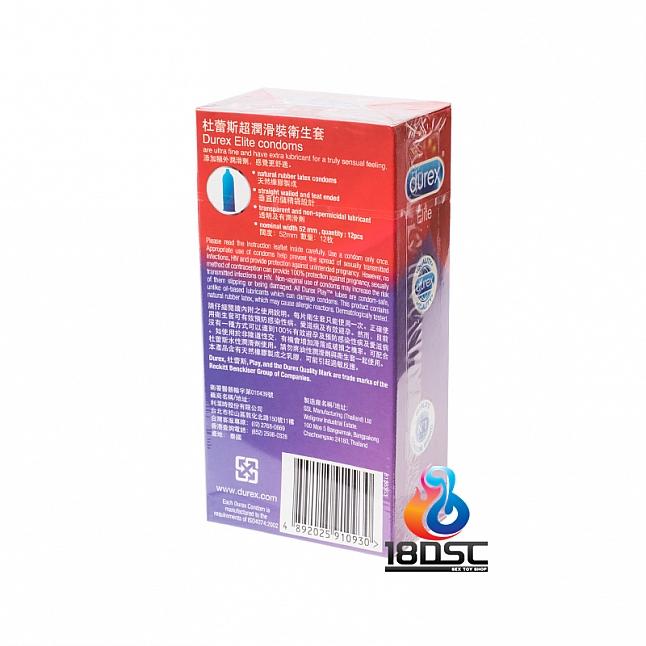 Durex - Elite Condom (HK Edition) 12 Pcs