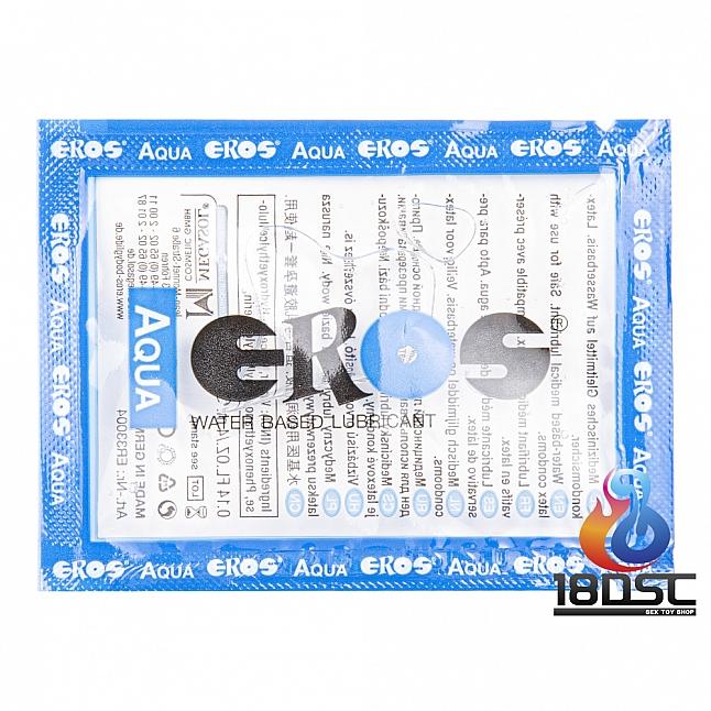 EROS - AQUA Water Based Lubricant 4ml