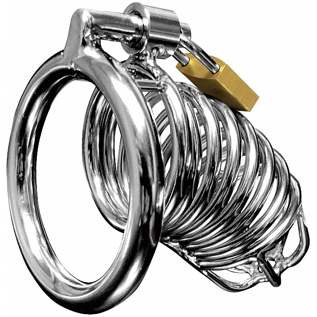 072LABO - Virgin Chastity Metal Cock Lock