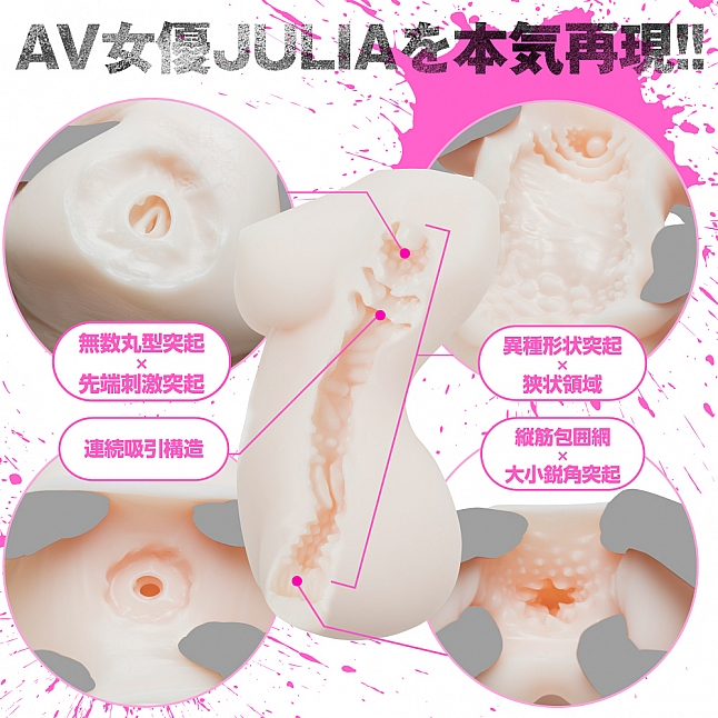 EXE - Horny JAV Actress Julia Realistic Clone Goddess Body Meiki