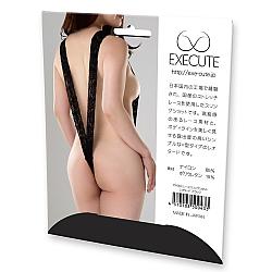 EXE CUTE - 性感蕾絲開胸連身衣