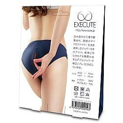 EXE CUTE - BM004 日本運動開檔短褲連拉鍊