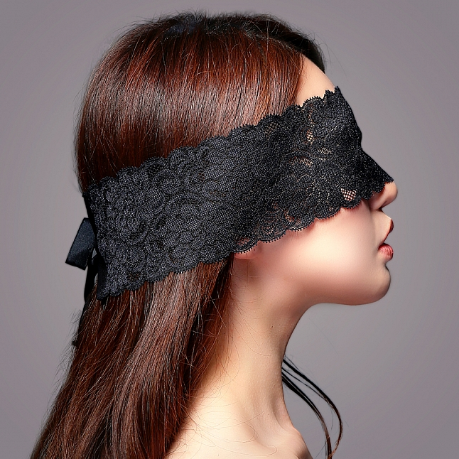 EXE CUTE - MK009 Lace Eye Mask with Ribbon