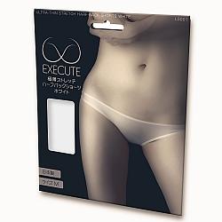 EXE CUTE - 微透視半包臀小內褲