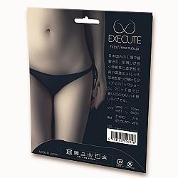EXE CUTE - 微透視綁帶丁字褲