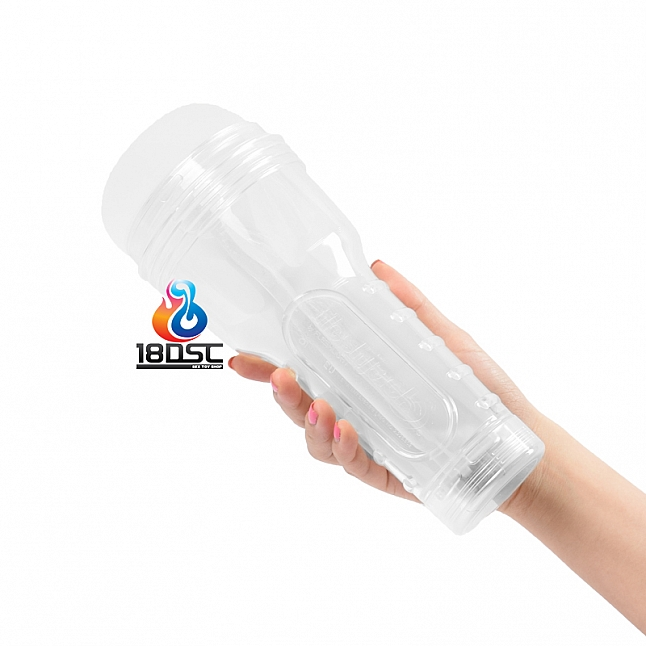 Fleshlight - Fleshjack Go Ice Bottom Crystal