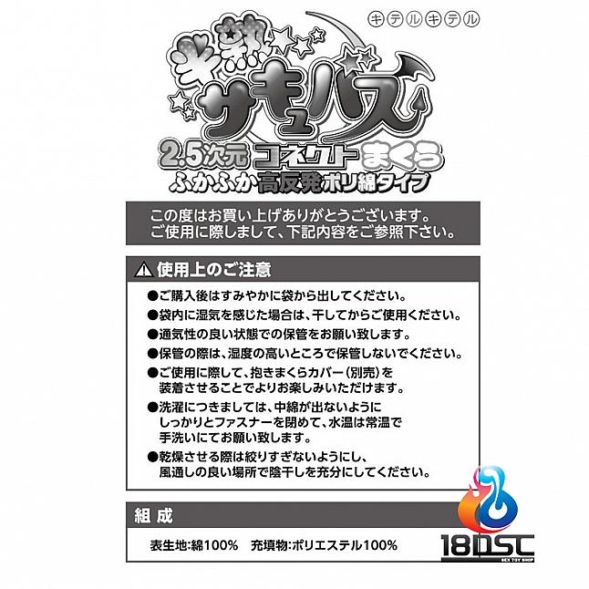 Kiteru - Hanjuku Succubus 2.5D Pillow