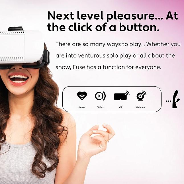Kiiroo - Fuse Interactive Remote Control Rabbit Vibrator