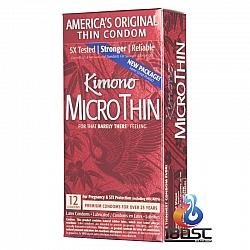 Kimono - Micro Thin 超薄安全套 (美國版)