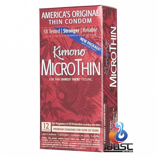 Kimono - MicroThin Condom (USA Edition)