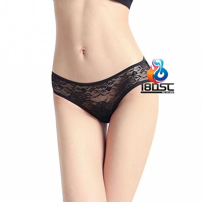 La CoCo Black Cage-Back Panty 43110