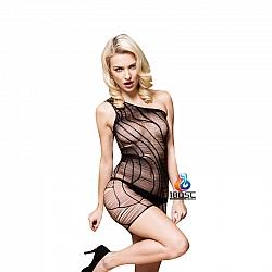 La CoCo 性感條紋情趣短裙