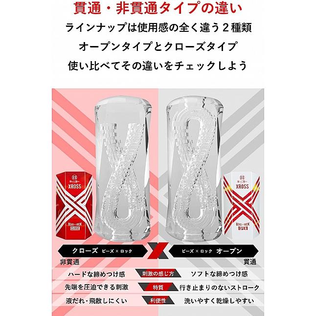 MEN'S MAX - XROSS Close 交錯式飛機杯