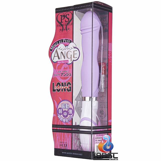 Mode Design - Paris Style Ange Purple Mini Vibrator