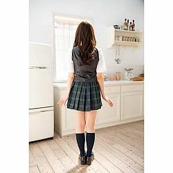 NPG - 相澤南最愛的女校生格子制服套裝