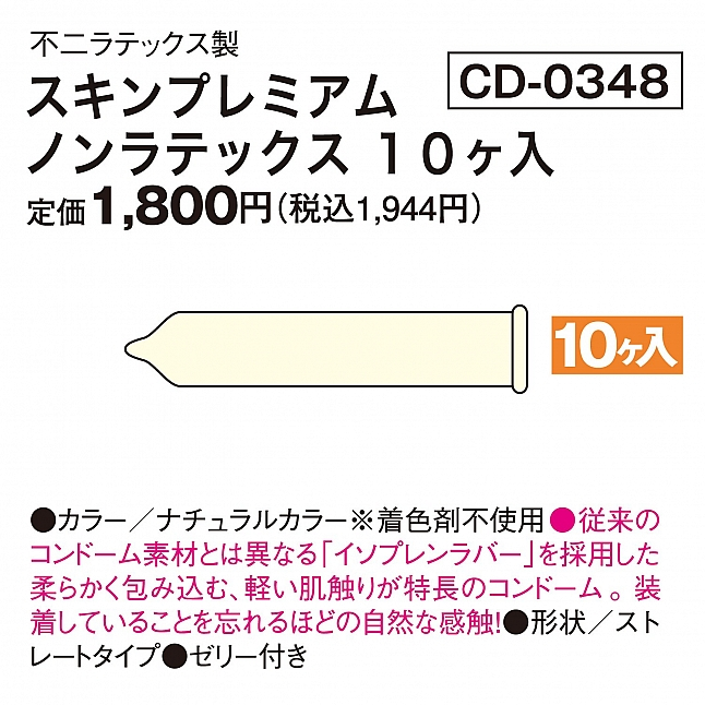Fuji Latex - SKYN Premium Condom (Japan Edition)