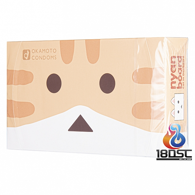 Okamoto - Nyanbo Condoms with Heating Lubricant (Japan Edition)
