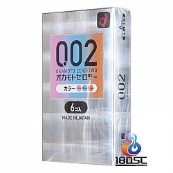 Okamoto - 岡本 0.02 三色版 (日本版)