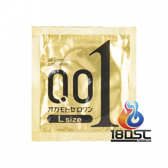 Okamoto - 0.01 Large Size (Japan Edition) Box of 3