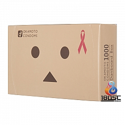 Okamoto 岡本 X 紙盒人 安全套 (日本版)