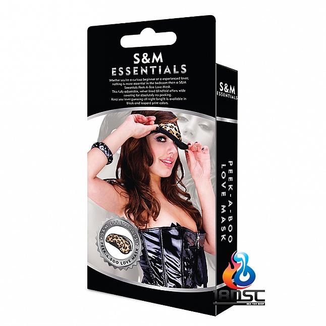 S&M Essentials - PEEK-A-BOO Love Mask