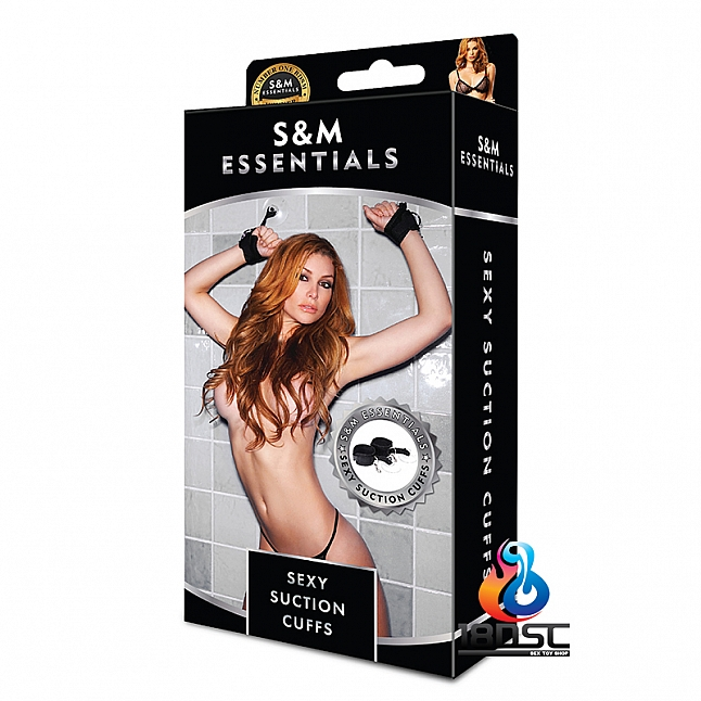 S&M Essentials - Sexy Suction Cuffs