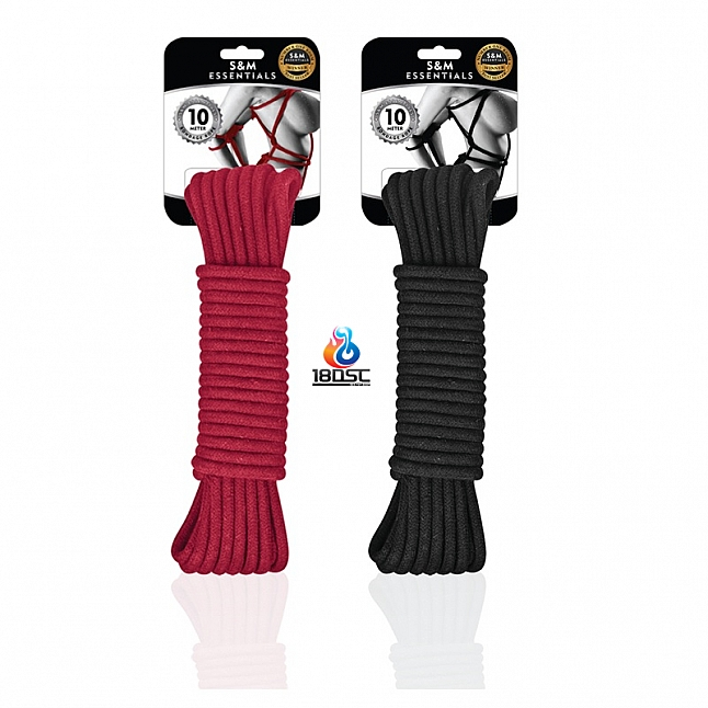 S&M Essentials - Bondage Rope 10M