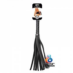 S&M Essentials - 22吋黑色仿皮皮鞭