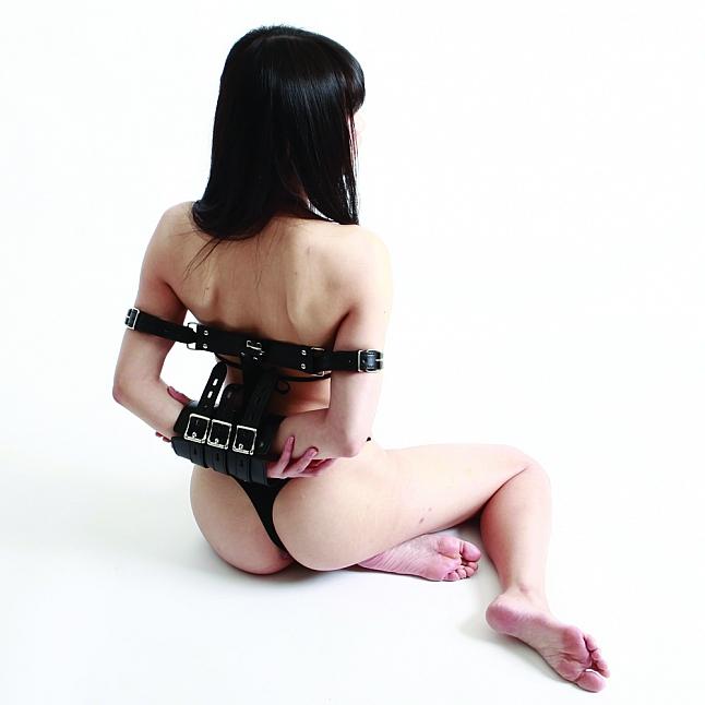 SM VIP - 手臂拘束連手銬套裝