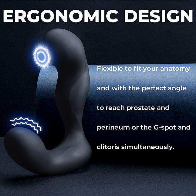 SVAKOM - IKER 智能無線遙控震動脈衝前列腺按摩器