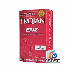 Trojan - 戰神無添加潤滑裝 (美國版) 12片裝