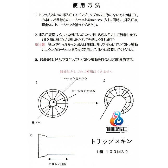 A-one - N.T.S. Trip Mild Blowjob Condom (Japan Edition)