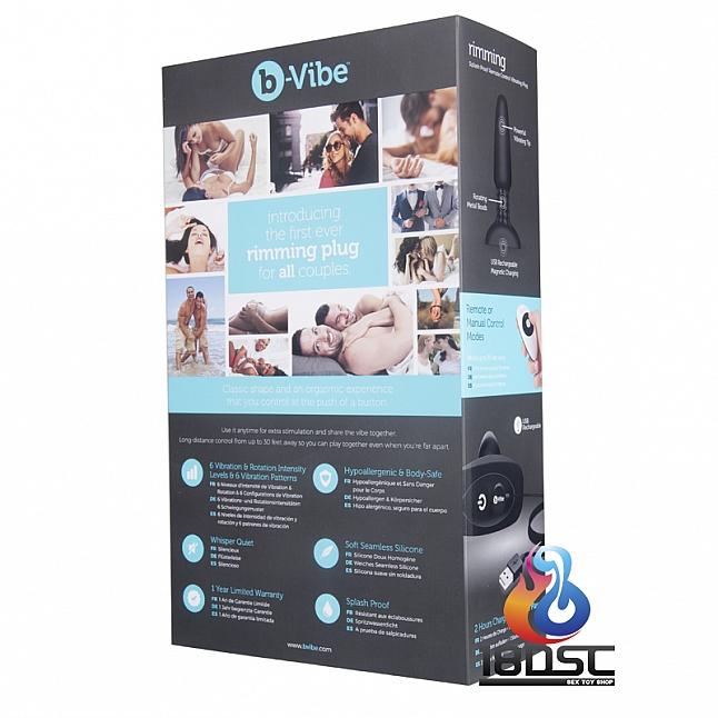 b-Vibe Rimming Plug 2