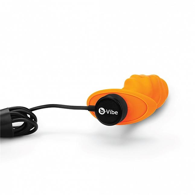 b-Vibe Swirl Texture Vibrating Plug
