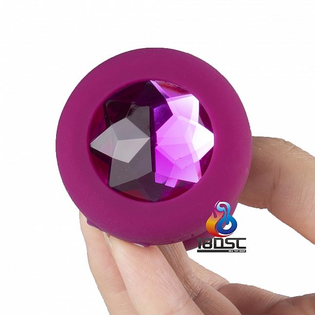 b-Vibe - Remote Control Vibrating Jewel Plug S/M