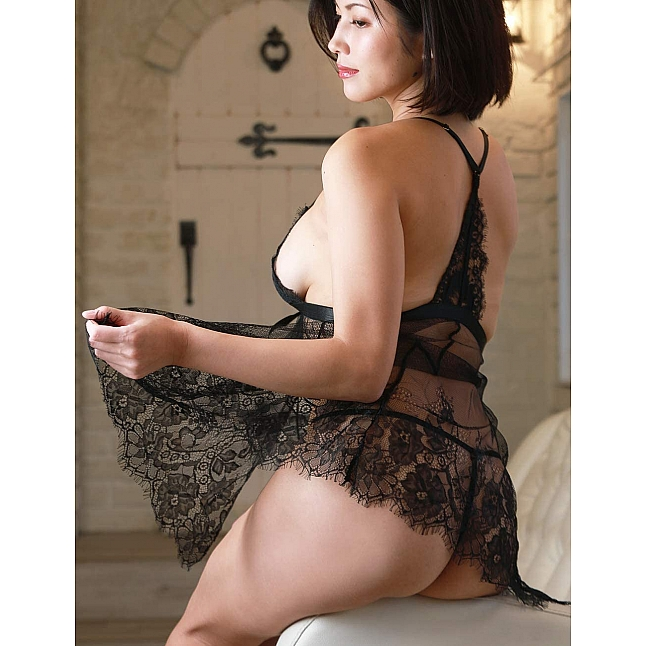 CRESCENTE - CR-009 French Lace Babydoll