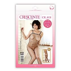 CRESCENTE - CR-018 性感連身魚網網衣