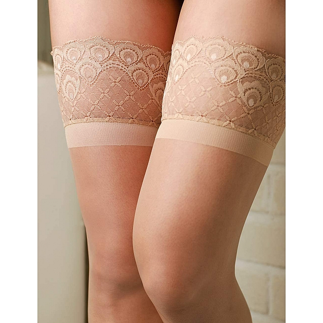 CRESCENTE - Lace Top Stockings